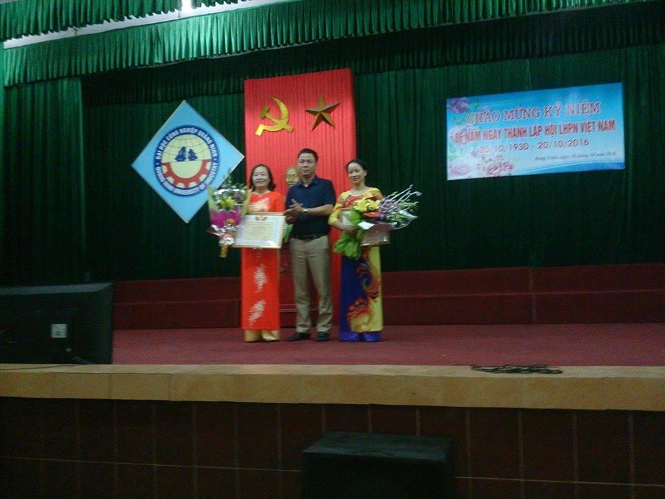 Trường ĐH Công nghiệp Quảng Ninh  chào mừng kỉ niệm ngày Phụ nữ Việt Nam 20/10