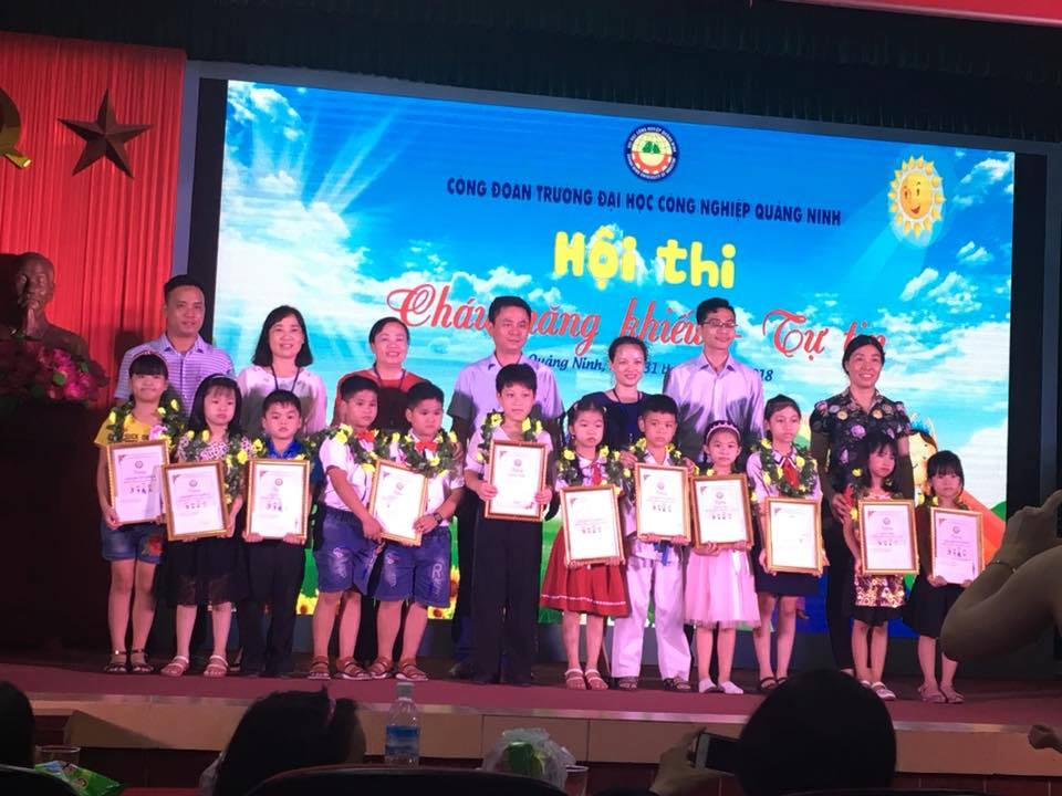 Công đoàn trường Đại học Công nghiệp Quảng Ninh chú trọng công tác chăm sóc, giáo dục thiếu niên nhi đồng