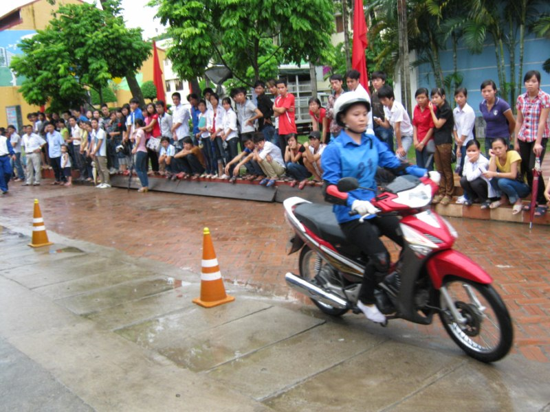 Cuộc thi An toàn giao thông với những kết quả thiết thực