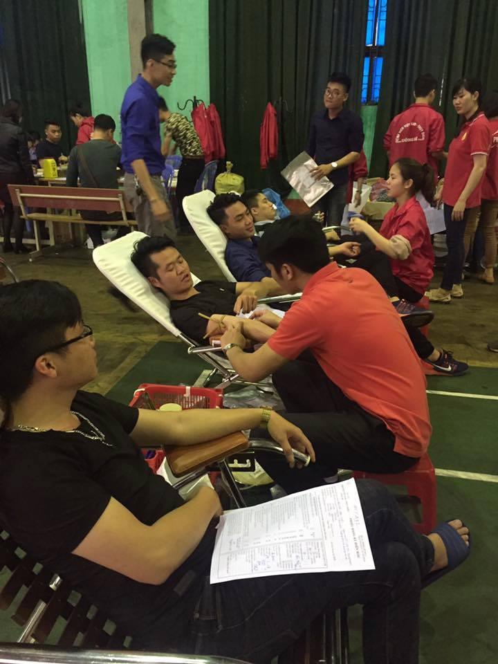 Đoàn trường Đại học Công nghiệp Quảng Ninh tổ chức ngày hội hiến máu tình nguyện đợt 1 năm 2017