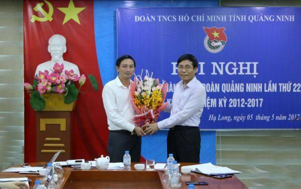 Đồng chí Lê Hùng Sơn được bầu giữ chức danh  Bí thư Tỉnh Đoàn Quảng Ninh khóa X, nhiệm kỳ 2012 - 2017