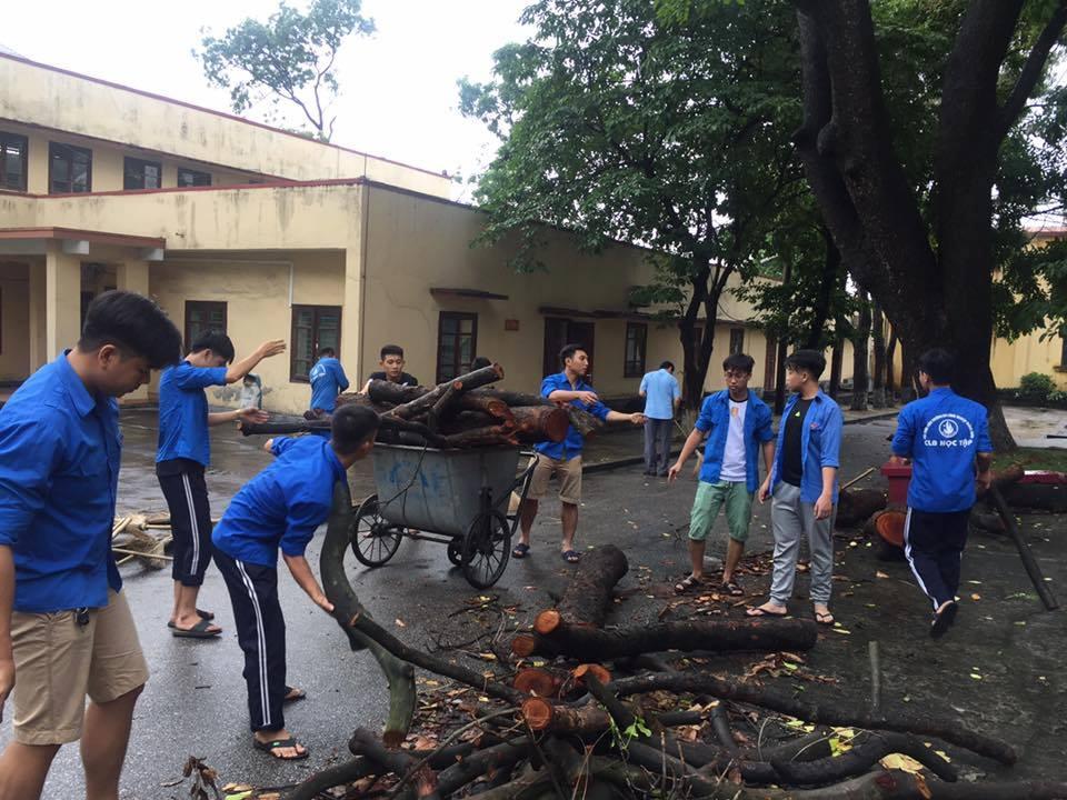 Tình nguyện hè vì môi trường, cảnh quan học đường Xanh - Sạch - Đẹp
