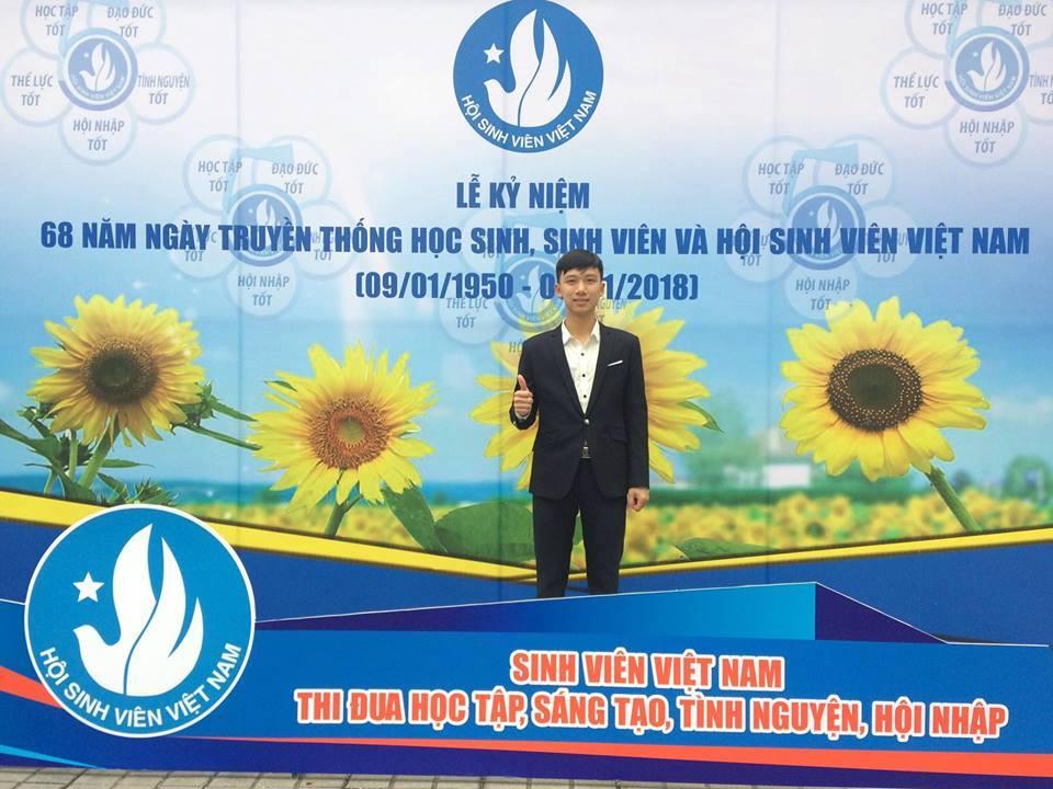 """Sinh viên trường ĐH Công nghiệp Quảng Ninh vinh dự nhận giải thưởng """"Sao tháng giêng"""" năm 2017"""