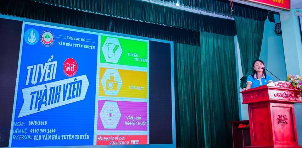 Các câu lạc bộ thuộc HSV trường ĐH Công nghiệp Quảng Ninh  sôi nổi tuyển tân thành viên
