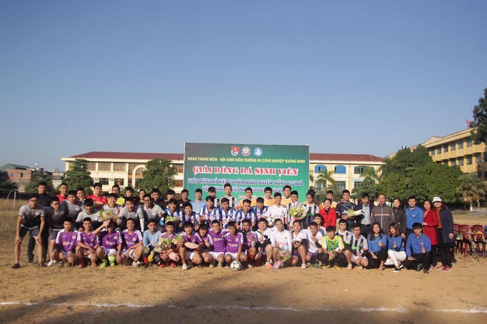 Khai mạc giải bóng đá nam sinh viên năm 2019
