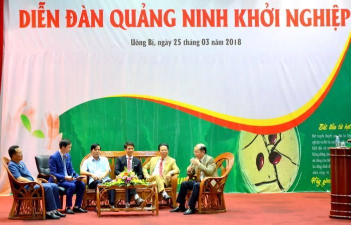 Diễn đàn khởi nghiệp Quảng Ninh năm 2018