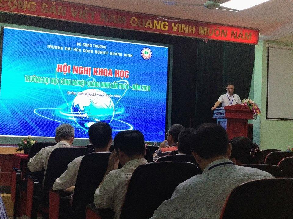 Hội nghị Khoa học Công nghệ lần thứ V  trường ĐH Công nghiệp Quảng Ninh thành công tốt đẹp