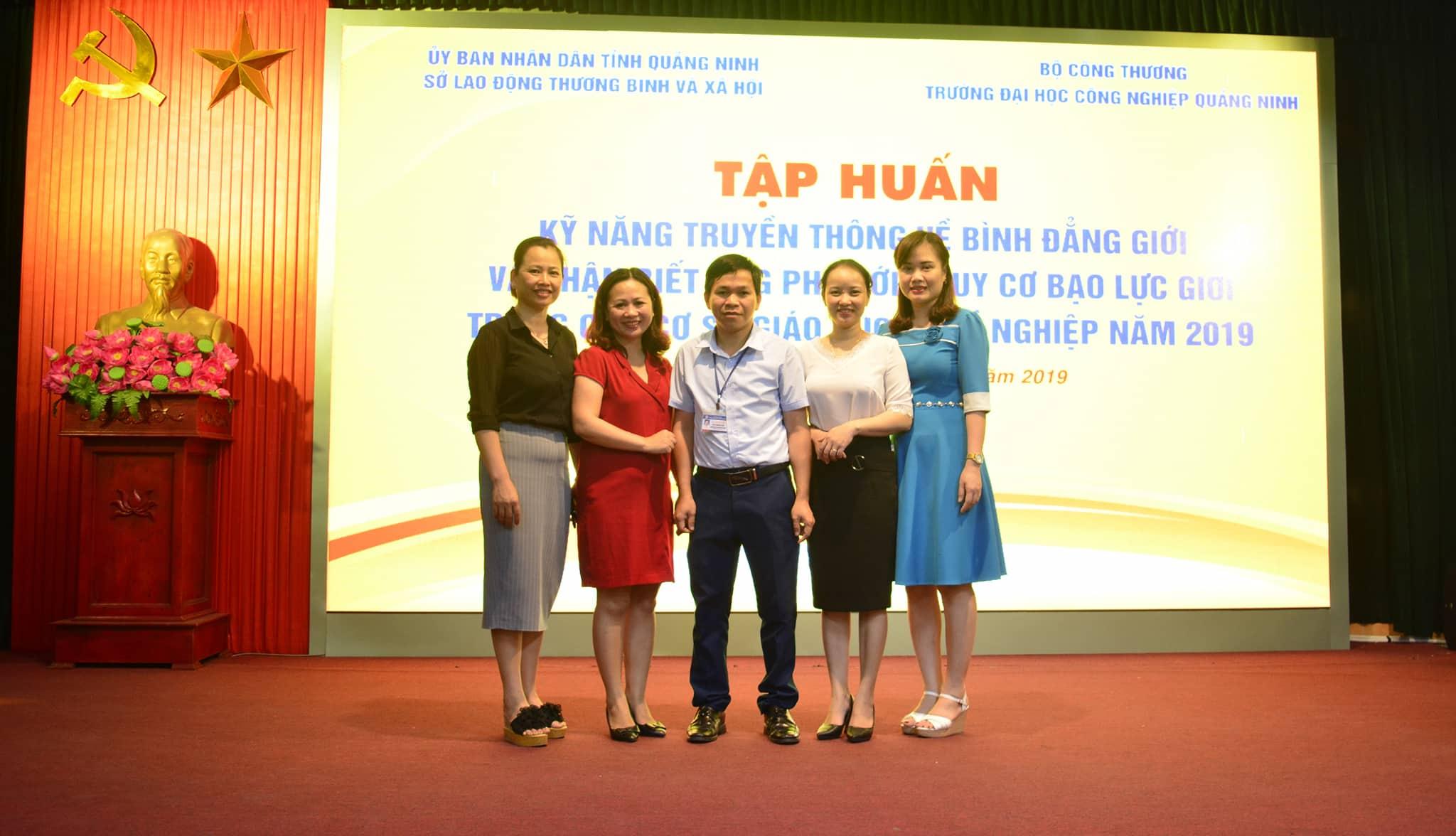 Hội nghị tập huấn kỹ năng truyền thông về bình đẳng giới và phân biệt ứng phó với nguy cơ bạo lực giới