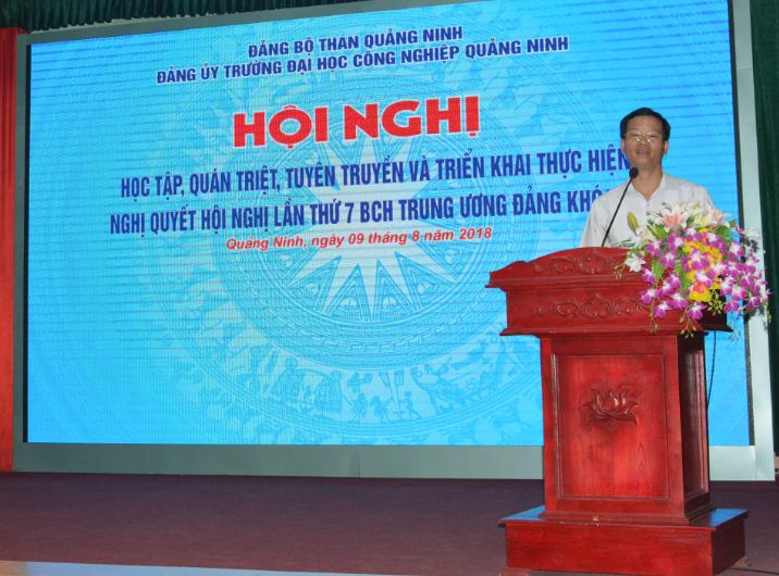 Hội nghị học tập, quán triệt, tuyên truyền Nghị quyết Hội nghị lần thứ 7, Ban chấp hành trung ương Đảng khóa XII