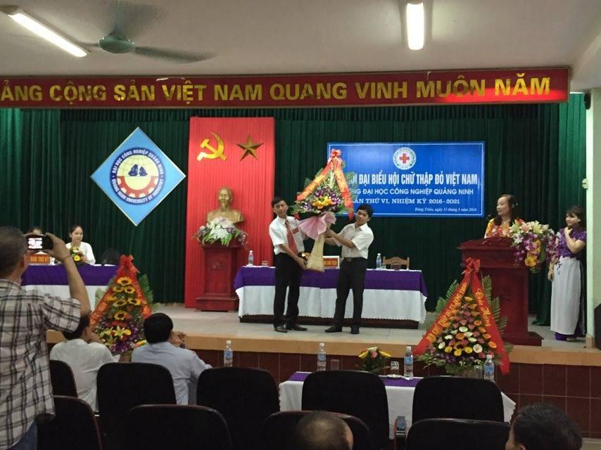 Đại hội đại biểu Hội chữ thập đỏ trường Đại học Công nghiệp Quảng Ninh thành công tốt đẹp