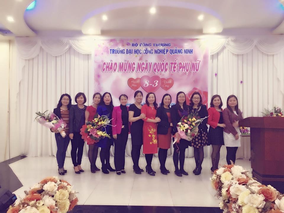 Công đoàn trường ĐH Công nghiệp Quảng Ninh tổ chức gặp mặt chào mừng ngày Quốc tế phụ nữ 8/3