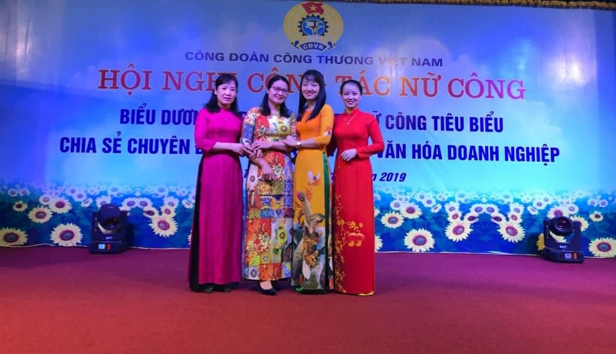 Tập thể, cá nhân trường ĐH Công nghiệp Quảng Ninh được biểu dương, khen thưởng tại Hội nghị công tác nữ công Công đoàn Công thương năm 2019
