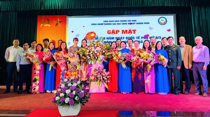 Công đoàn trường Đại học Công nghiệp Quảng Ninh tổ chức các hoạt động chào mừng ngày Quốc tế Phụ nữ 8/3