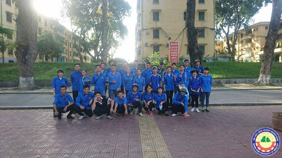 Đại học Công nghiệp Quảng Ninh ra quân tình nguyện hè tại Minh Thành