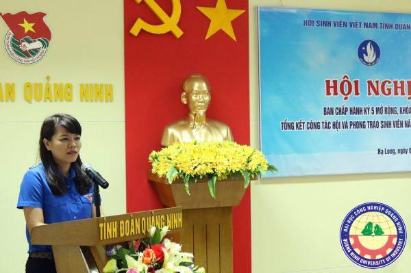 Đoàn Trường Đại học Công nghiệp Quảng Ninh tham dự  lớp Tập huấn kỹ năng, nghiệp vụ công tác Đoàn trường học,  năm học 2016 - 2017