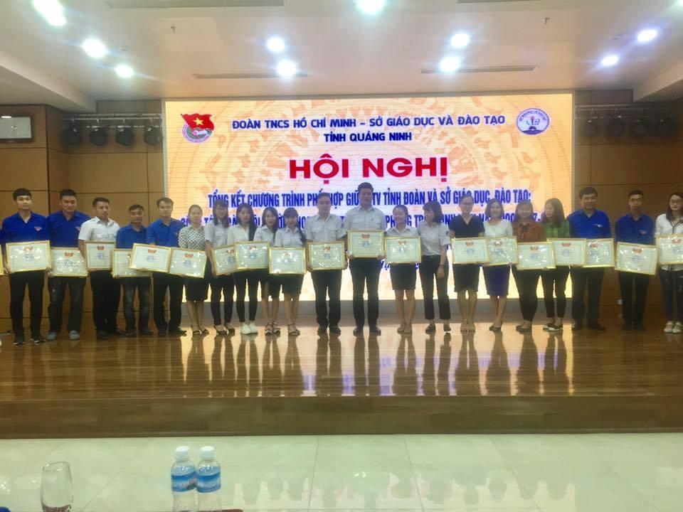 Hội nghị tổng kết công tác Đoàn - Đội trường học, công tác Hội và phong trào sinh viên năm học 2017 - 2018