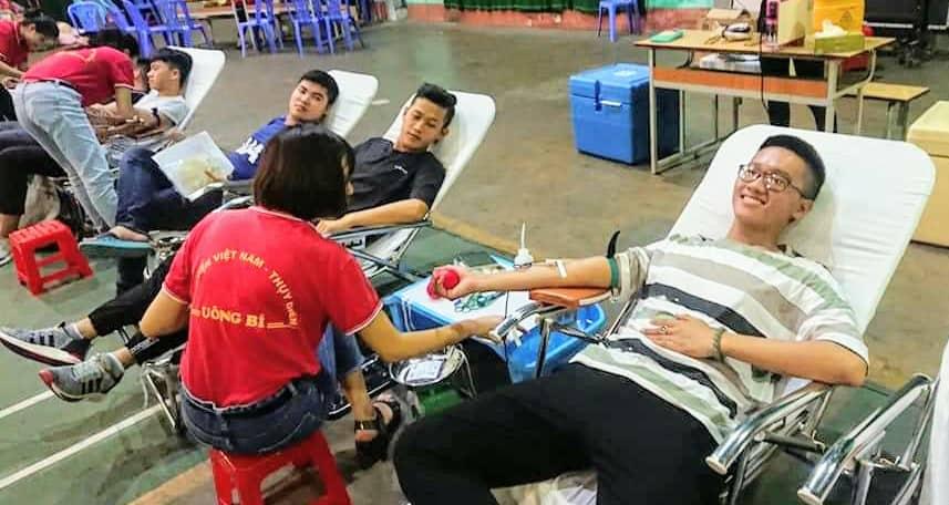Ngày hội hiến máu năm 2019 tại trường ĐHCNQN