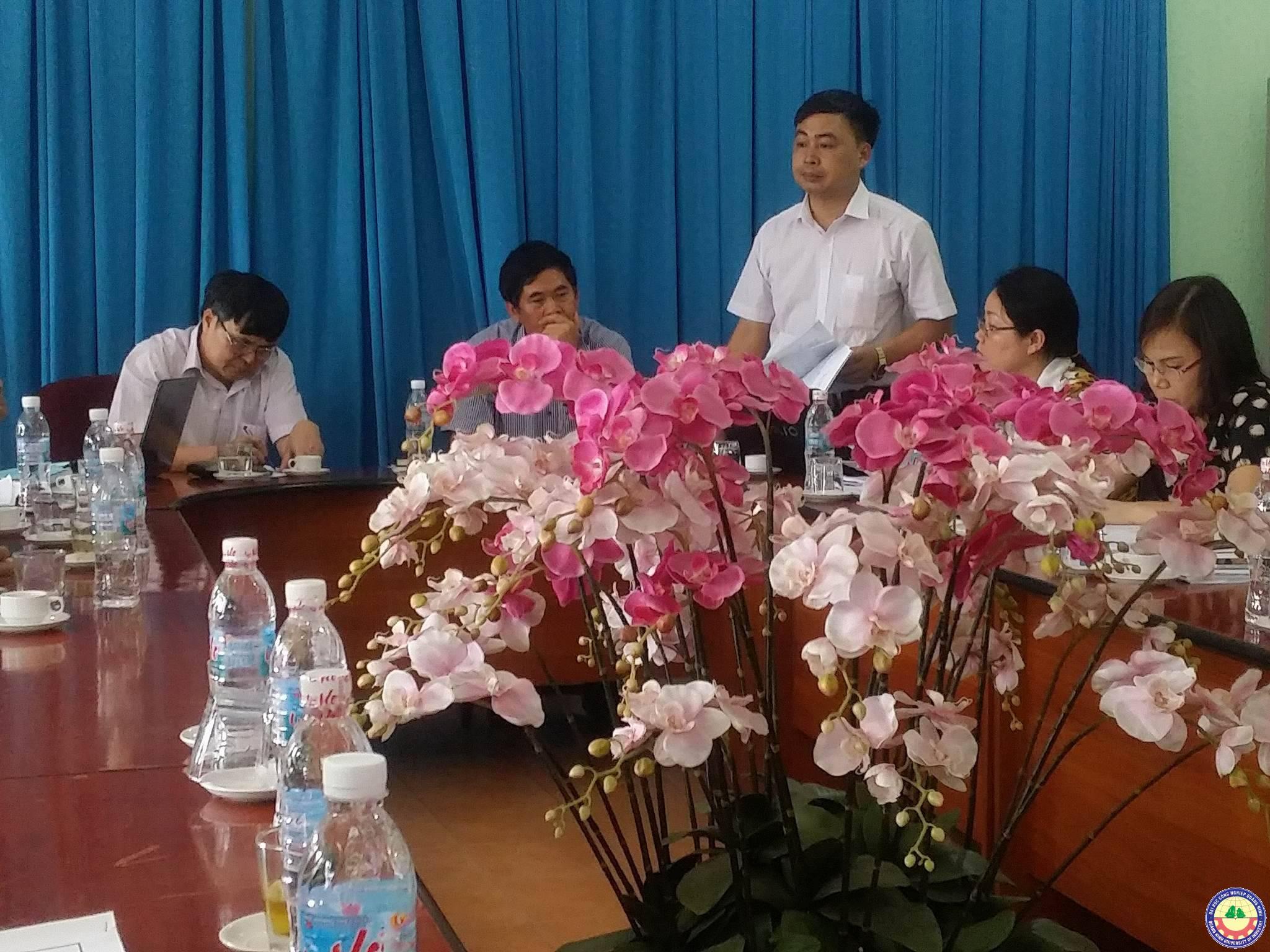 Sở Giáo dục đào tạo tỉnh Quảng Ninh kiểm tra các điều kiệm để mở nghành đào tạo thạc sĩ của trường Đại học Công nghiệp Quảng Ninh