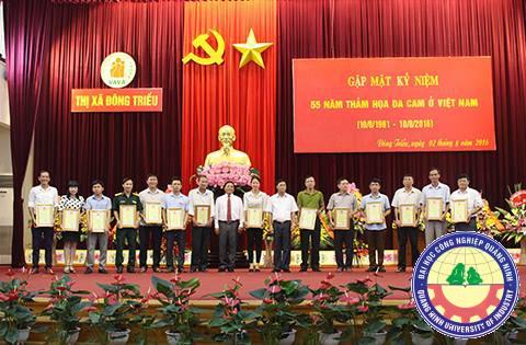 Đông Triều kỷ niệm 55 năm thảm họa da cam ở Việt Nam