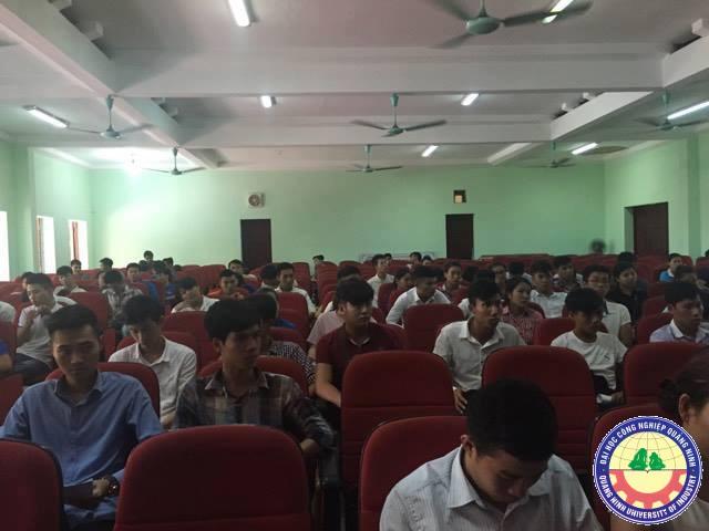 Hội nghị triển khai nhiệm vụ công tác học kỳ I năm học 2016-2017