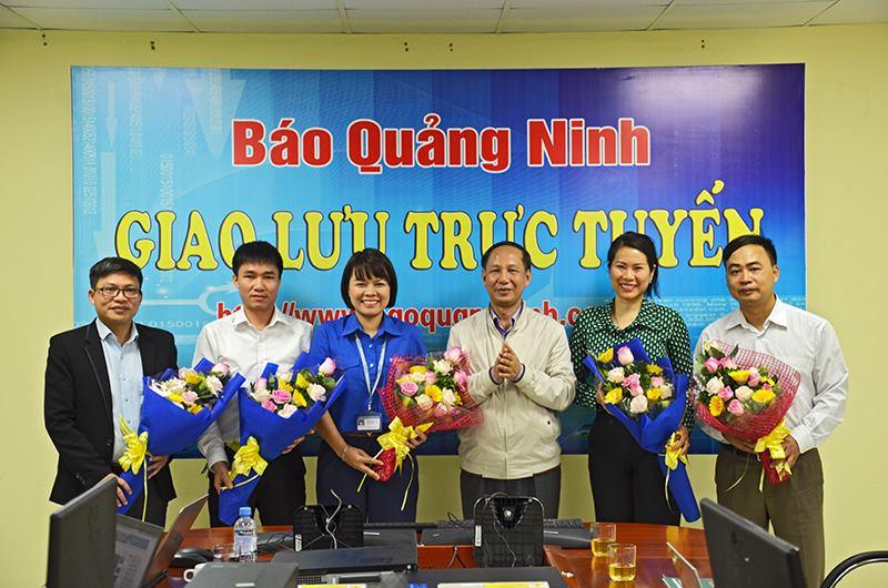 """Trường ĐH Công nghiệp Quảng Ninh tham gia chương trình Giao lưu trực tuyến """"Tư vấn mùa thi, định hướng nghề nghiệp năm 2018"""""""