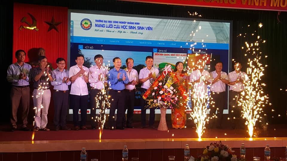 Lễ ra mắt ban điều hành mạng lưới cựu học sinh, sinh viên , học viên Trường Đại học Công nghiệp Quảng Ninh