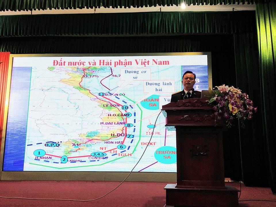 Hội nghị tuyên truyền biển, đảo tại trường ĐH Công nghiệp Quảng Ninh